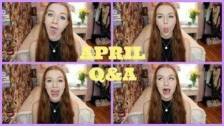 April Q&A:  BeautyCon? VidCon? Spanked by SDK? Thumbnail