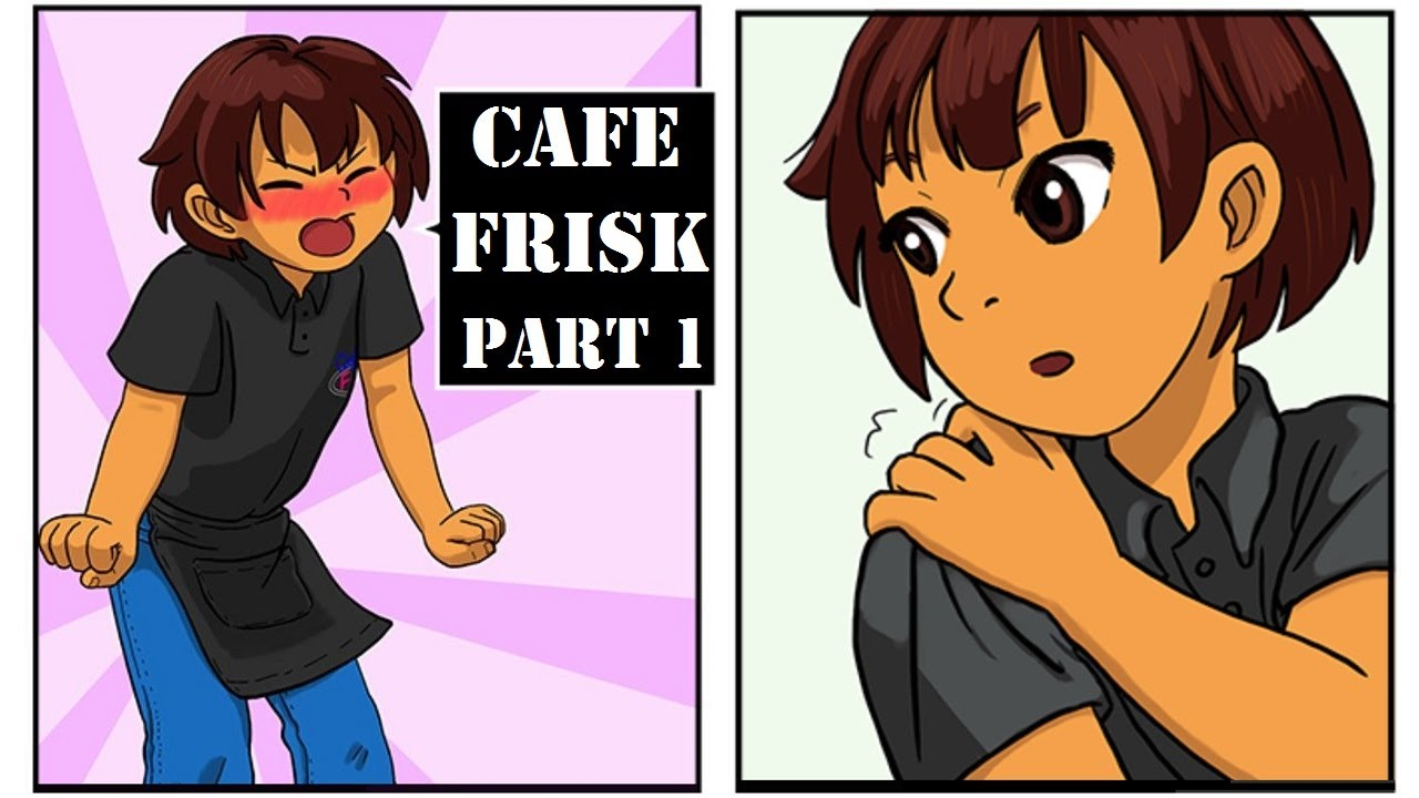 Cafe Frisk【 Undertale Comic Dub 】