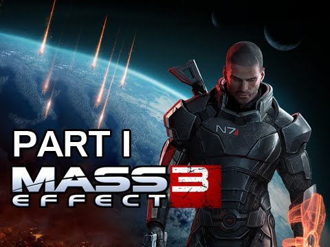 Mass Effect 3 Walkthrough - Part 1 Reaper Invasion PS3 XBOX 360 PC (Gameplay / Commentary)