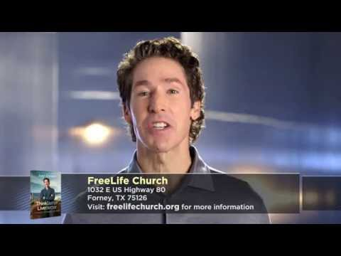 Free Copy of Joel Osteen's Book at FreeLife Church- Forney, TX!