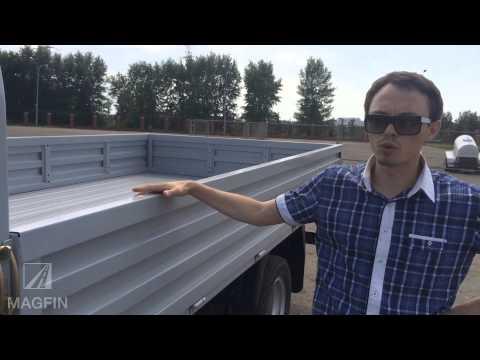 Обзор грузового коммерческого автомобиля JBC (ДжиБиСи)