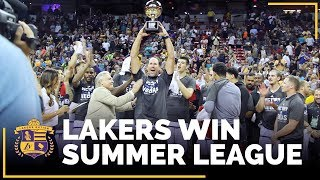 Lakers win it all...nba summer league ...