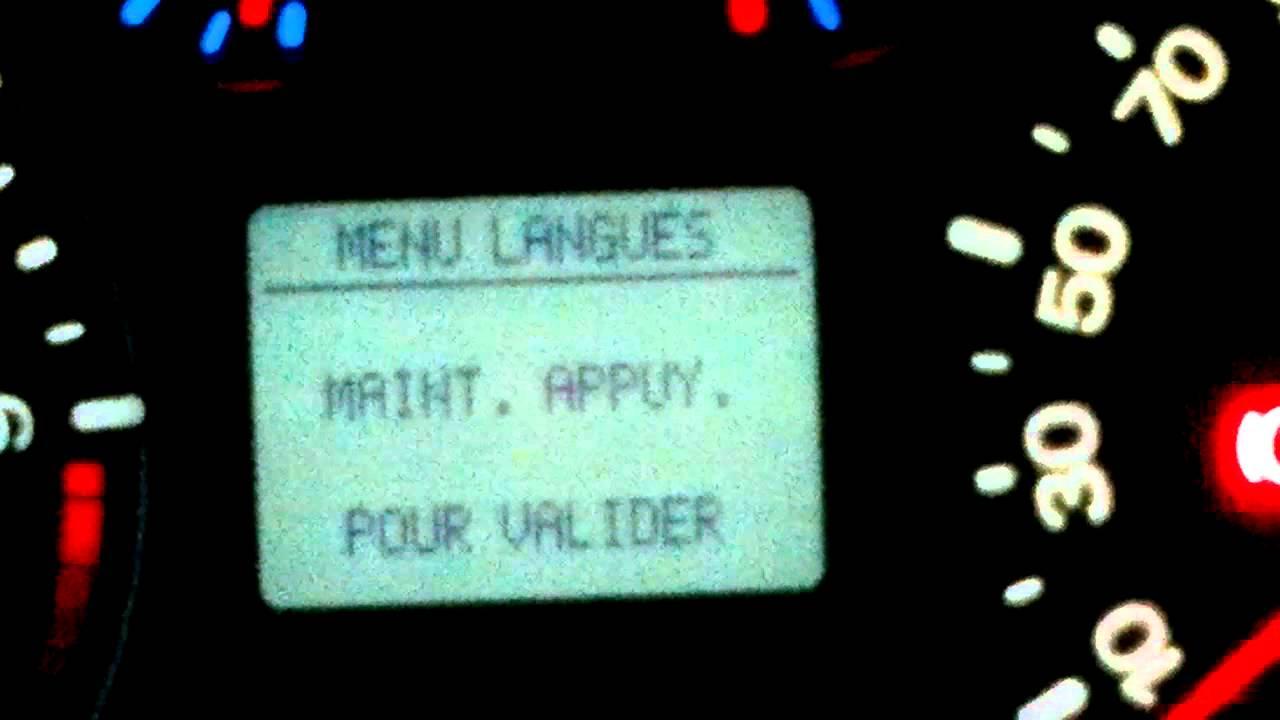 Язык щитка приборов Ford FUSION.mp4