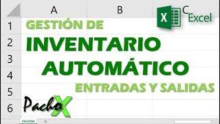 Gestion de inventario automatico de entradas y salidas   Aumentar y descontar stock