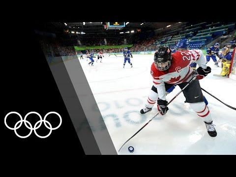 Top 3 Women Olympic Ice Hockey point scorers