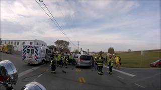 Rescue 50 Ride Along to 54 Accident Entrapment