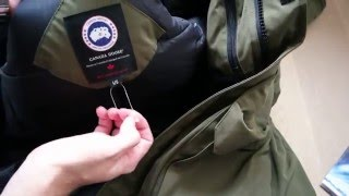 Canada Goose Expedition Parka unboxing