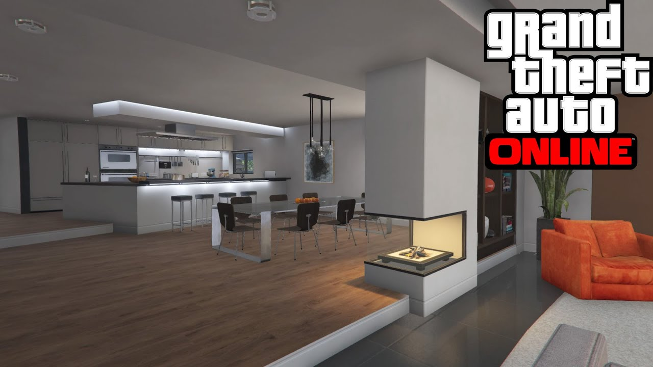 Gta Online Stilt House Tour Youtube