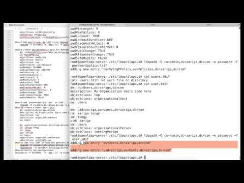 PHP LDAP Admin Interface Walkthough - YouTube