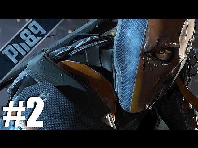 DEATHSTROKE | Batman Arkham Origins Végigjátszás #2