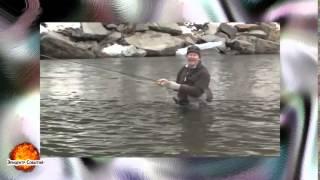 Смешное видео Приколы на рыбалке #33(Самые смешные курьезы, приколи, и глупости которые могут случится с людьми, животными ,смотрите на нашем..., 2015-04-16T20:57:06.000Z)