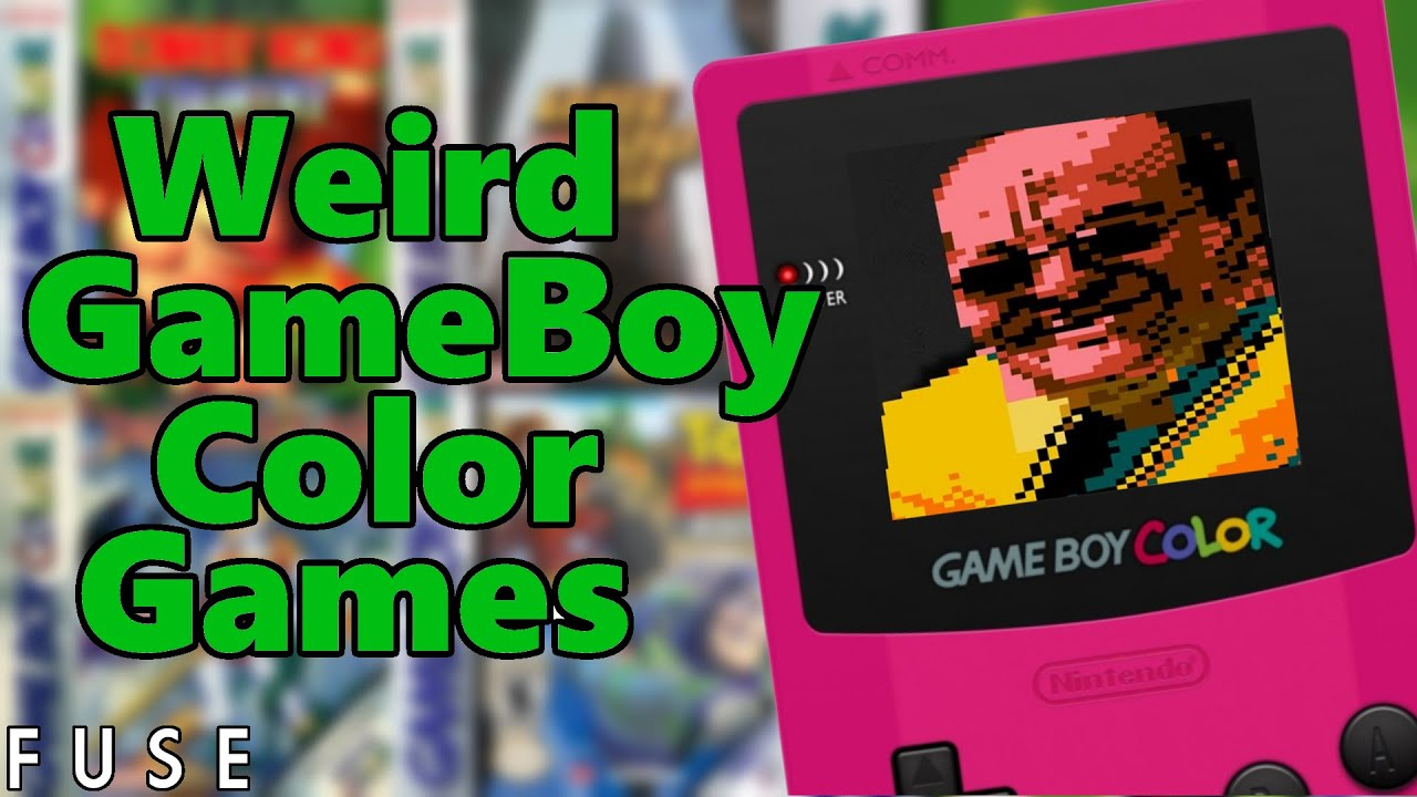 Weird GameBoy Color Ports