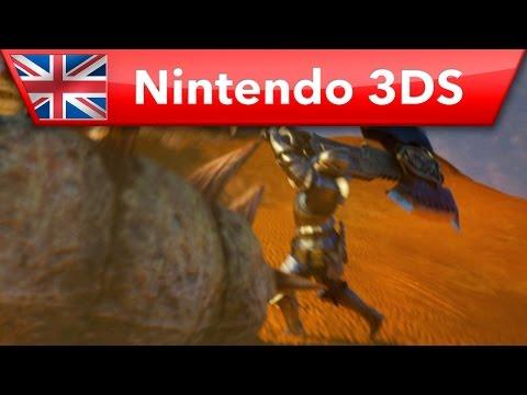 Monster Hunter 4 Ultimate - Release Date Trailer (Nintendo 3DS)