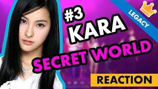 KARA - 카라 – SECRET WORLD – KPOP LEGACY REACTION - (Kamilia M…