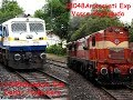 Haripriya express waited to cross two trains @ Devaraya stn- Indian Railway