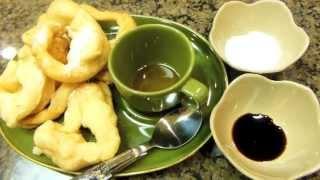 Mote Let Kauk (Burmese Doughnut) | Sweet Violet's Burmese Cuisine