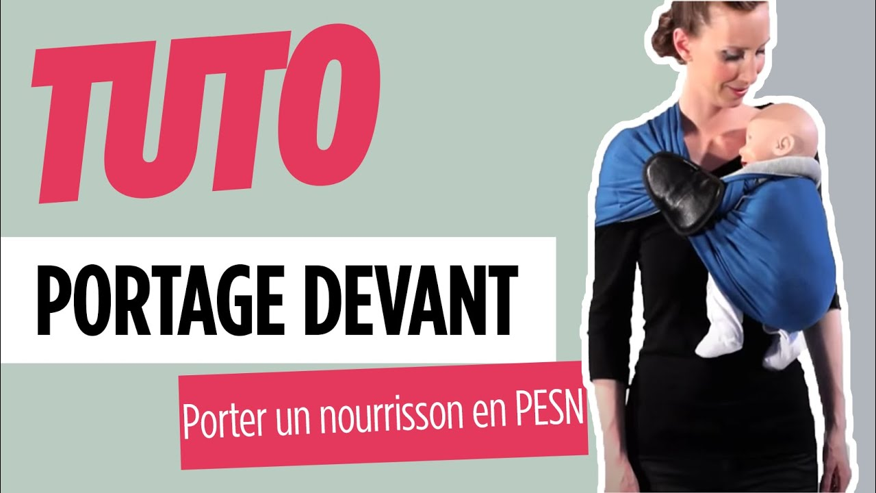 Petite Echarpe Sans Noeud - Porter un nourrisson - JPMBB - YouTube 9f422c03b6a