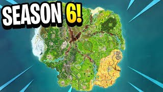 Fortnite SEASON 6 MAP LEAKED! Loot Lake REMOVED dans Fortnite Saison 6! (Fortnite Battle Royale)