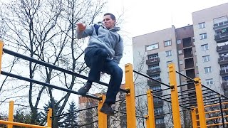 Tutorial #7 Muscle up 360 - Street Workout Tutorial(Poziom trudności: średni Level of difficulty: Medium Kolejny video poradnik z cyklu Street Workout, Muscle up 360 My next video tutorial in a series of Street ..., 2014-11-15T16:09:53.000Z)