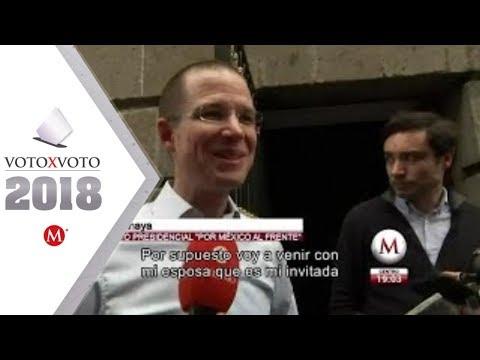 Ricardo Anaya dice que está listo para ganar el debate