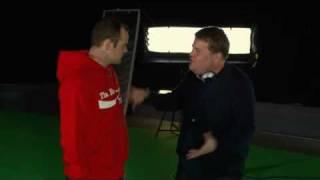 James Corden And Wayne Rooney GOAL CELEBRATION!