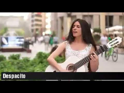 Pengamen Cantik  Cover  Lagu Despacito Suara Merdu