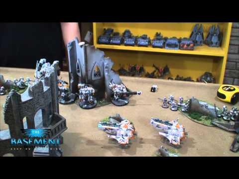 TBMC - HD Video Batrep - 1500 Space Wolves vs Tau