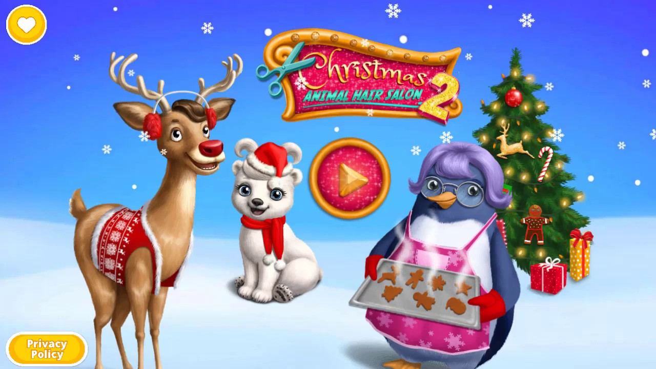 [VIDEO] - Fun Animals Care & Santa Makeover - Christmas Animal Hair Salon 2 2