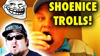 SHOENICE22! The human garbage disposal AKA SHOENICE (YouTuber Comment Patrol)