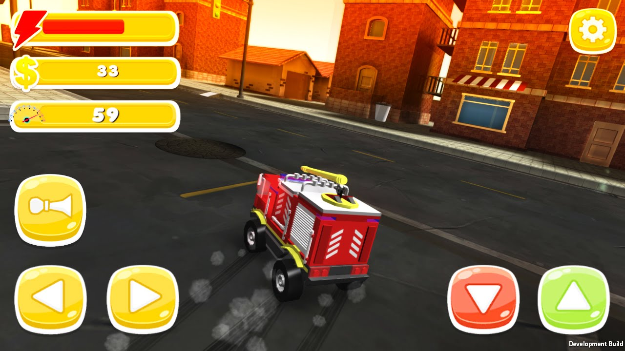 Toy Car Simulator Free Ride Playing With Chief Fire Truck Youtube