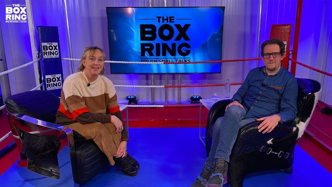 The Boxring met Barbara Torfs