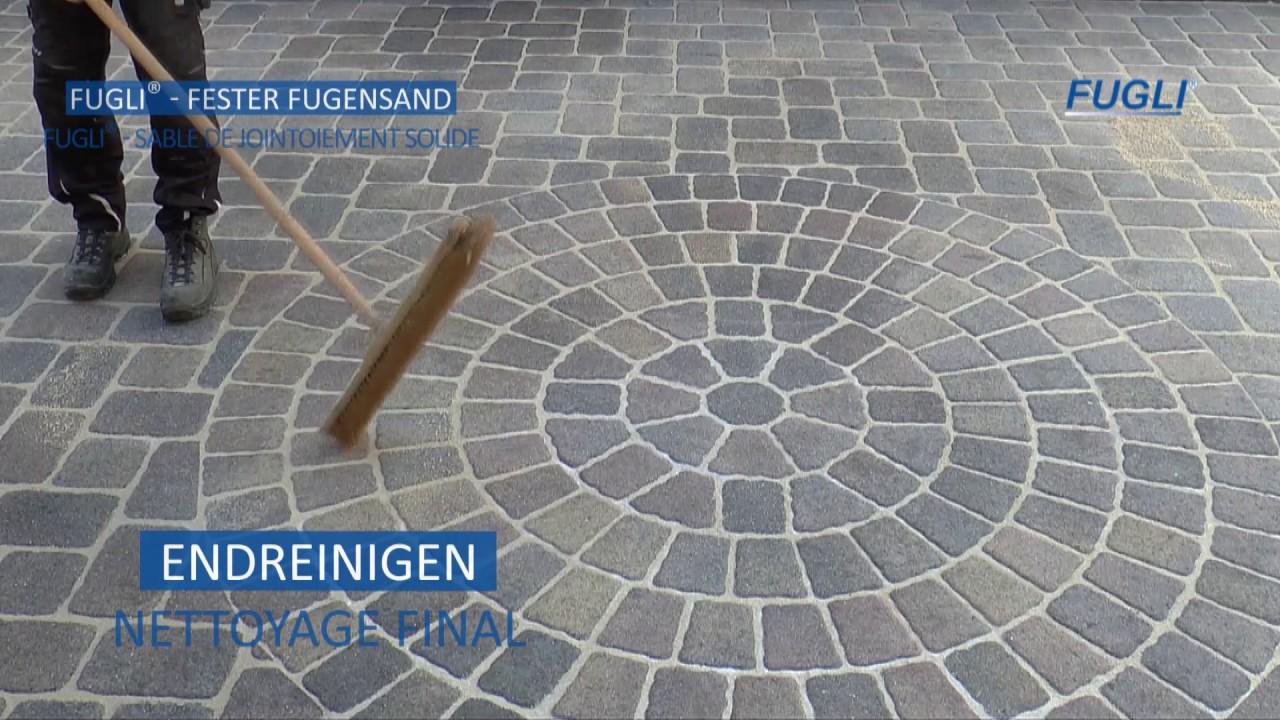 Hervorragend FUGLI Premium Fugensand - YouTube RH79