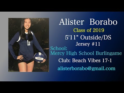 Alister Borabo - 2019 OH/DS - Recruiting Video