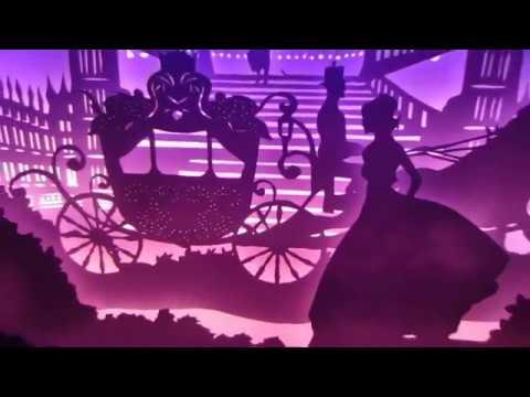 Papercut Lightbox NNT: Cinderella
