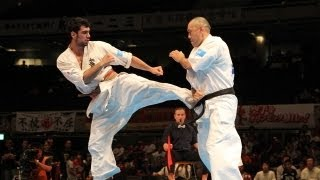 THE 10th WORLD KARATE CHAMPIONSHIP Men 3rd round Hassan Mroue vs No...