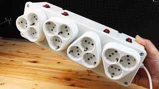 Homemade 12 Sockets Electrical Box