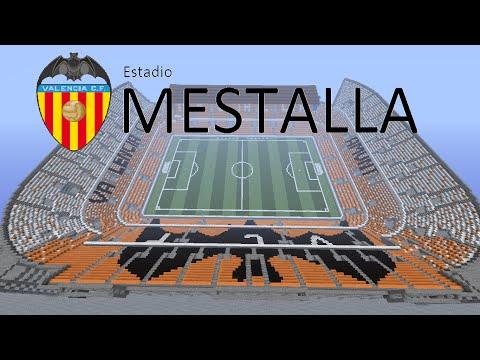 Estadio Mestalla Minecraft