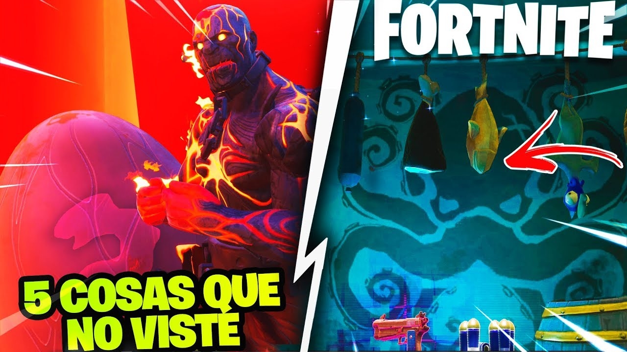 Top 5 Secretos Ocultos De La Temporada 8 Fortnite Volcan Explota