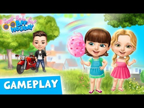 Fun Weekend With Best Friends! Sweet Baby Girl BFF Holiday Gameplay | TutoTOONS Cartoons For Kids