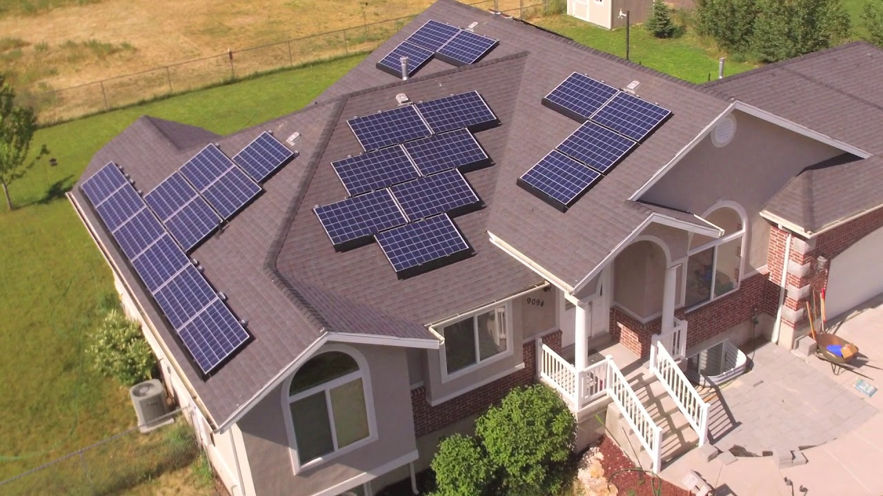 Solar Panels on Our House - One Year In - YouTube