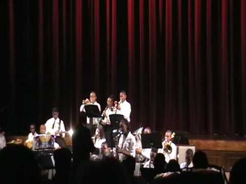 OW Huth Middle School Jazz Band plays Killer Joe