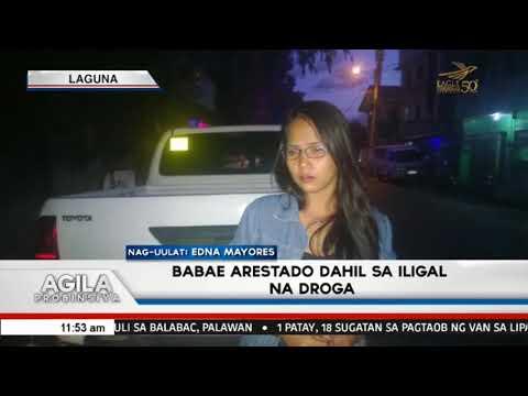 Babae arestado dahil sa iligal na droga sa Sta. Rosa City, Laguna