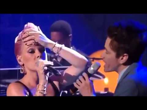 Pink ft. Nate Ruess- Just give me a reason LIVE 2013