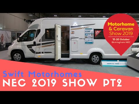 Swift Motorhomes | Motorhome And Caravan Show NEC 2019 Pt2