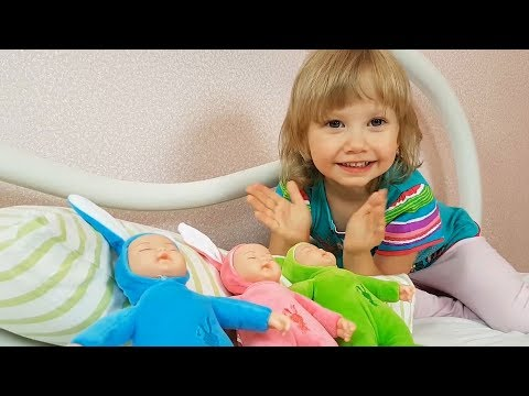 Сrying Baby dolls, Are you sleeping song for kids by Learn colors with me & Nursery rhymes Songs