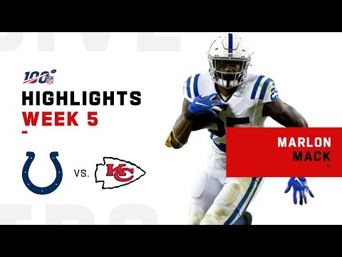 Marlon Mack's 148