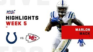 Marlon Mack's 148 Total Yards vs. Chiefs | NFL 2019 Highlights
