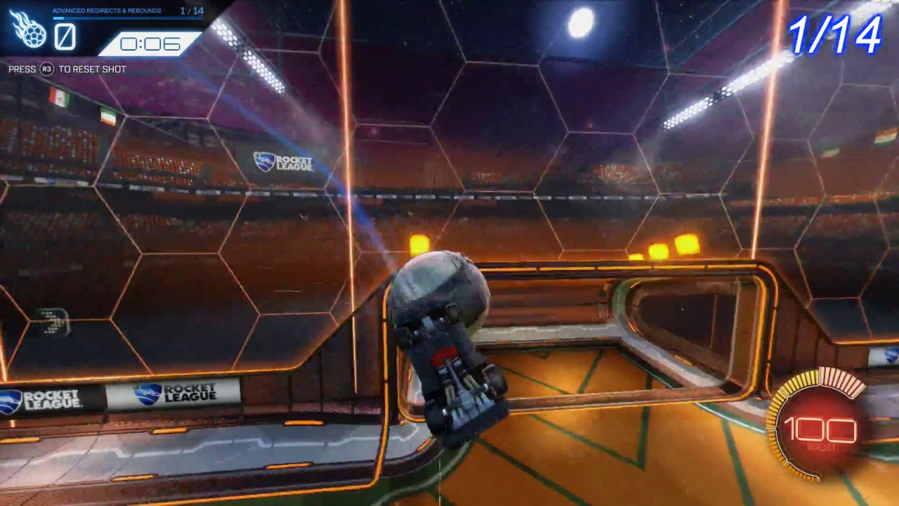 Rocket League – Advanced Redirects & Rebounds Training Pack