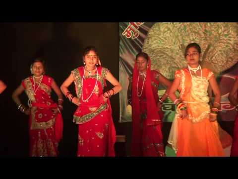 Kajari, Bihar folk Dance Presented by Mukti Niketan Ghogha, Bhagalpur