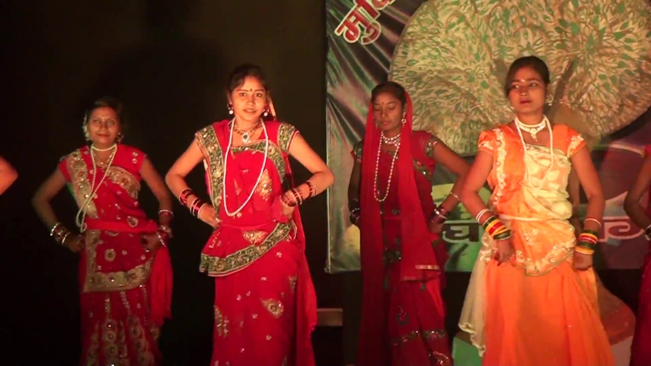Kajari, Bihar folk Dance Presented by Mukti Niketan Ghogha, Bhagalpur -  YouTube